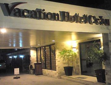 vacation hotel cebu_entrance