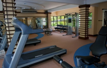 regency lagoon resort_gym