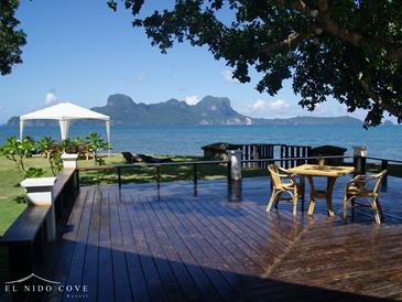 el nido cove resort_view deck3