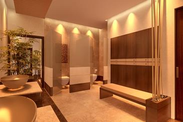kandaya resort_locker room