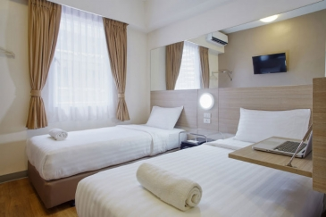 tune hotel aseana_twin room