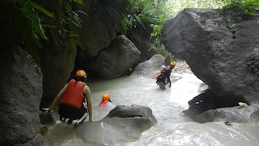 cebu canyoning tour