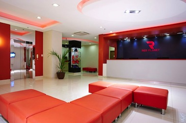 red planet hotel cagayan de oro - lobby