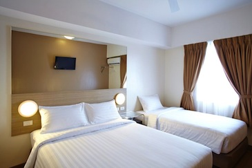 red planet hotel cagayan de oro - family room