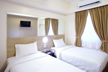red planet hotel quezon city - room