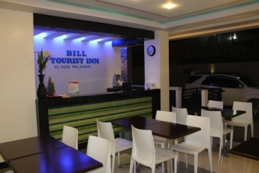 bill tourist inn el nido_front desk