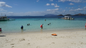 coron island tour_beach