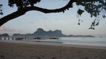 el nido inland tour_lio beach