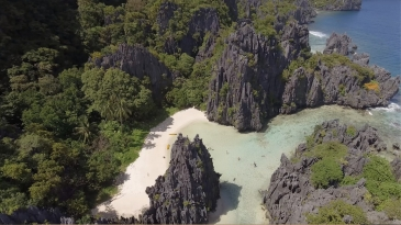 hidden beach el nido