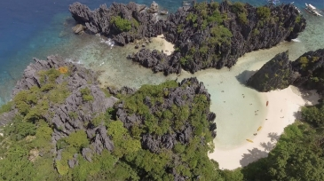 hidden beach el nido3