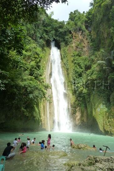 Mantayupan Falls Barili Cebu Tour