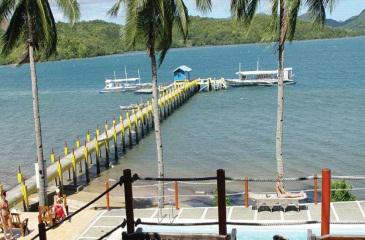 dive link resort_dock