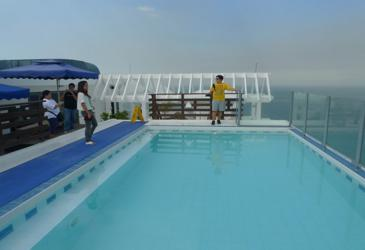 microtel mall of asia_pool