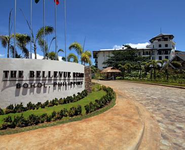the bellevue resort bohol_entrance