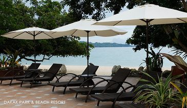 dakak resort_beach area