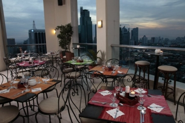 Beautiful City Garden Hotel Makati_roof Deck