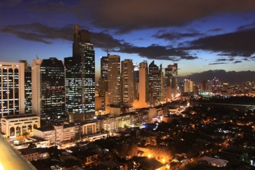 city garden hotel makati_roof deck view