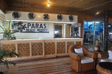 paras beach resort_reception