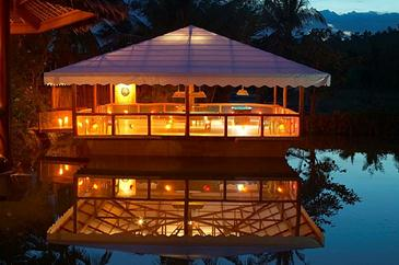badian island resort and spa_floating gamehouse