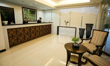 main hotel and suites cebu_reception area
