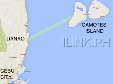 how to get to camotes island