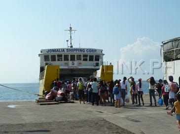 how to go to camotes island