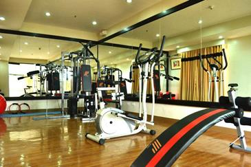pinnacle hotel davao_fitness center
