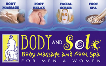 BODY AND SOLE BODY MASSAGE AND FOOT SPA