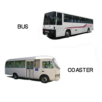 CEBU CAR RENTAL - COASTER & BUS