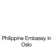 PHILIPPINE EMBASSY IN OSLO