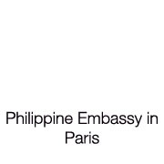 PHILIPPINE EMBASSY IN PARIS